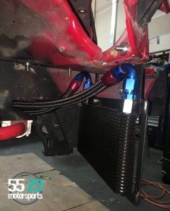 custom oil cooler for NB2 Miata