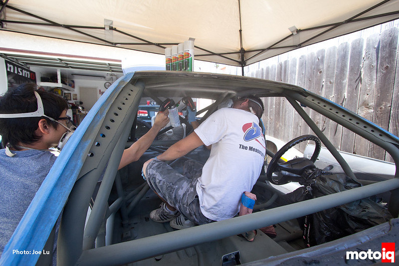 Project LSR painting interior