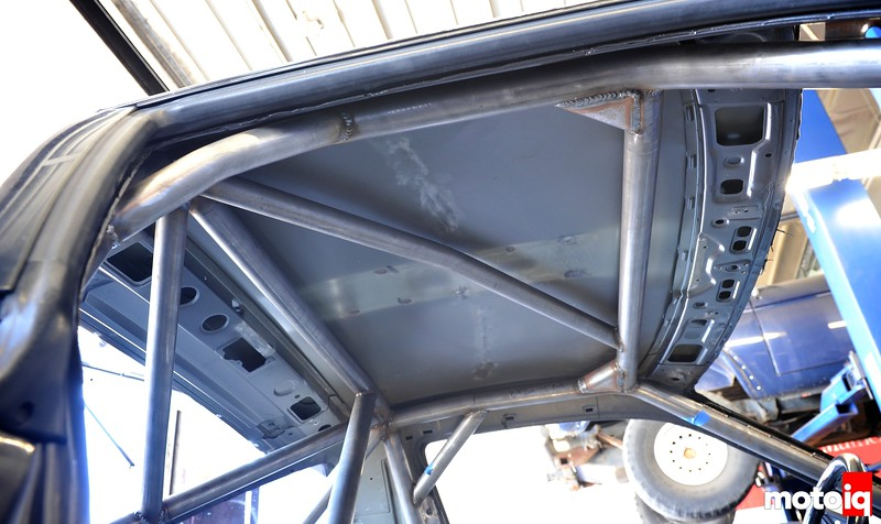 Project LSR roll cage
