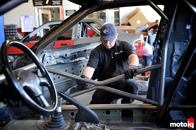 Project LSR rollcage fab