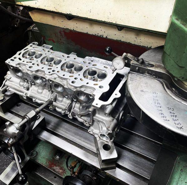 NB2 BP-ZE/VE cylinder head surfacing