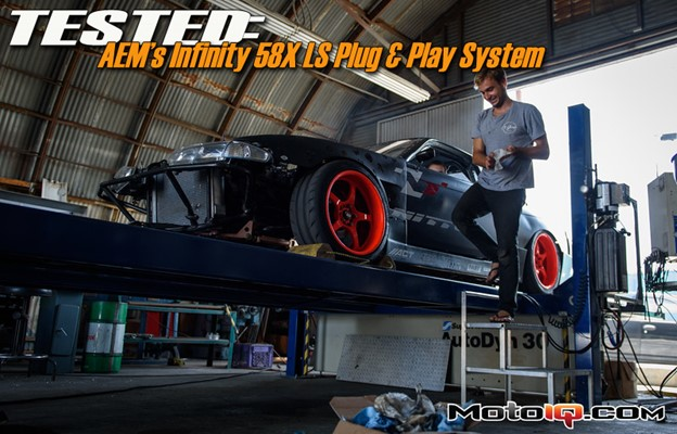 Matt Powers and the AEM Infinity 58X LS Plug and Play System