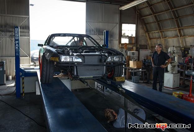 Matt Powers drift S14