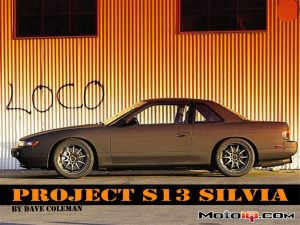 Project S13 Silvia: Taking 2 Pounds off the Bouncy Bits!